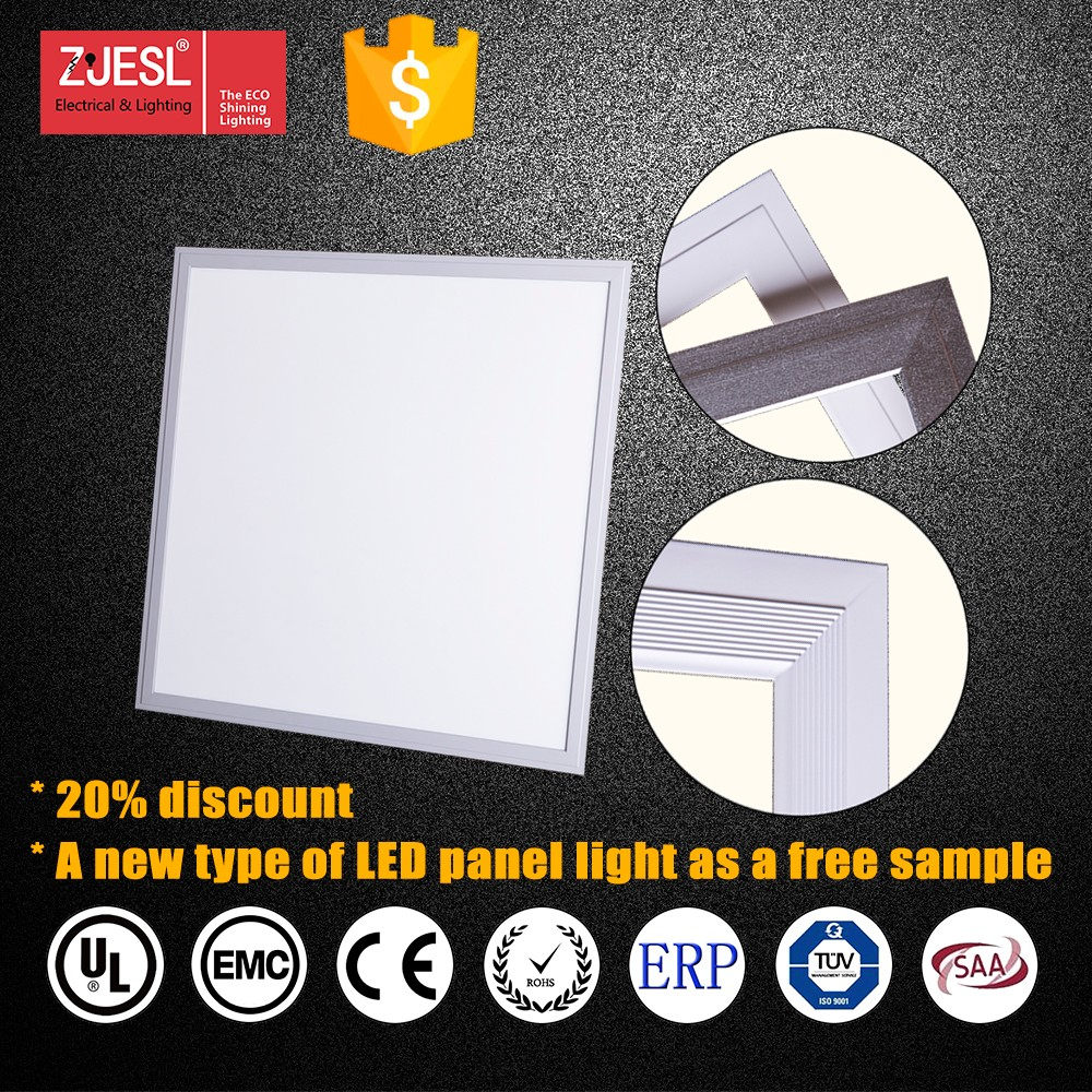 2016 New TUV CE&RoHS iluminacion led panel light 600x600 3years warranty Embedded with Clips