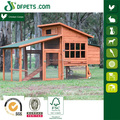 Wooden Poultry Hen House with Backyard