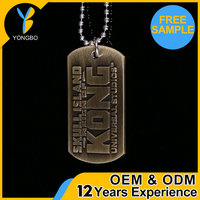 Factory Supplier zinc alloy cheap engraved dog tags With Promotional Price