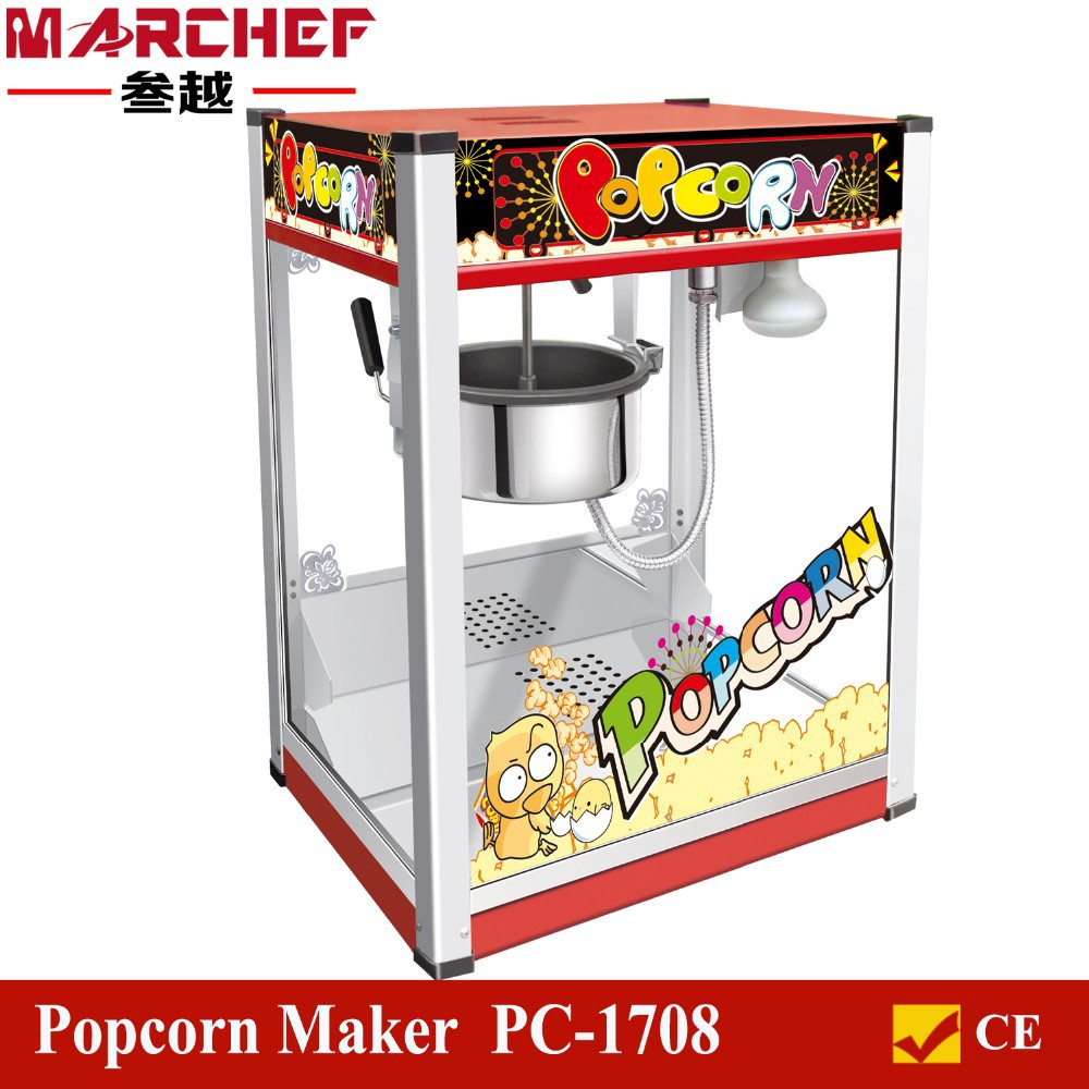 Make snack time more festive with a popcorn maker from Sears. What's a good movie without a large bowl of buttery popcorn to go along with it? Sears has a wide variety of popcorn makers in cute designs that make a great addition to your home decor. The vintage look and feel takes you down memory lane, and it also is extremely efficient to use.