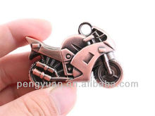 2013 extremely cool metal motorbike usb flash pen drive