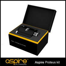 Good quality refillable e hookah with new technology aspire proteus kit new hookah in china