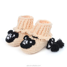 Fashion shoe China wholesale crochet knitting crochet baby shoes S-20