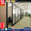 aluminium exterior glass wall panels Office Partitioning System Glass partitions for office