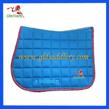 Jumping Saddle Pad with Printed Binding