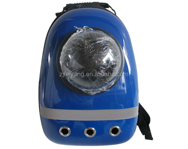 Factory Lightweight camp travel Carrier dog cat pet bag, Bubble Astronaut Capsule space backpack