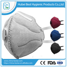 Smog mask with respirator/valve with high quality anti haze pollution