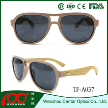 2016 hot selling products recycled skateboard Bamboo sunglasses , wood polarized sunglasses , Bamboo sunglasses