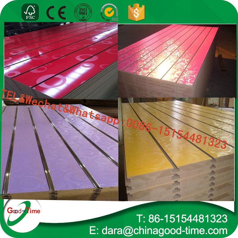 18mm UV coated MDF board/UV slot MDF