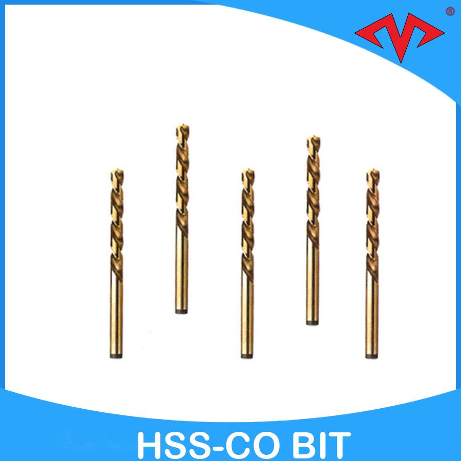 High grade hss cobalt twist strong drill strong bit for metal