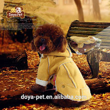 China factory supply winter fashion pet coat dog clothes pet hoodies