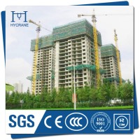 Hot sale 50m high and 8ton tower crane with best price