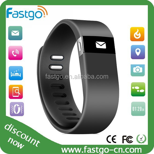 2015 Promotion Bluetooth Bracelet Pedometer Multifunction Digital Step Counter