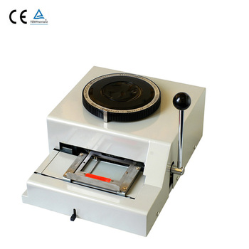 207 China Seller in Alibaba.com/CNJACKY SC-5000 Dog Tag SC-5000 Dog Tag Embosser/Office Used Data Stamping Machine