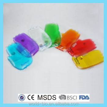 Customized Color Reusable Hot Hand Warmer Gel Instant Heating Pack