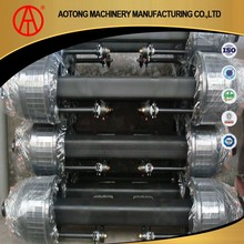 China Manufacturer boogie trailer axles with air bags