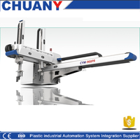 CHUANYI 3 Axis Double Arm AC Servo Robotic Arm with Arduino Control System