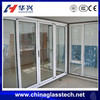 European advanced technology tempered/insulated glasswhite/black/gray color thermal break &normal sliding aluminum doors windows