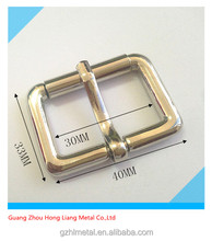 30MM metal pin belt buckle for hand bag ,bag accessories,luggage hardware