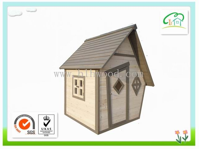 Outdoor Wooden Playhouse for Kids