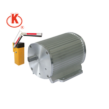 220V 135mm tubular single phase ac asynchronous motor for barrier gate