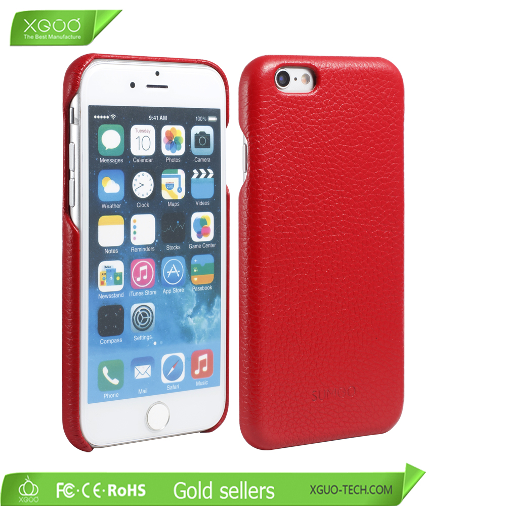 Back Hard Mobile Phone Hand Phone Cover for iPhone 5s Leather Case