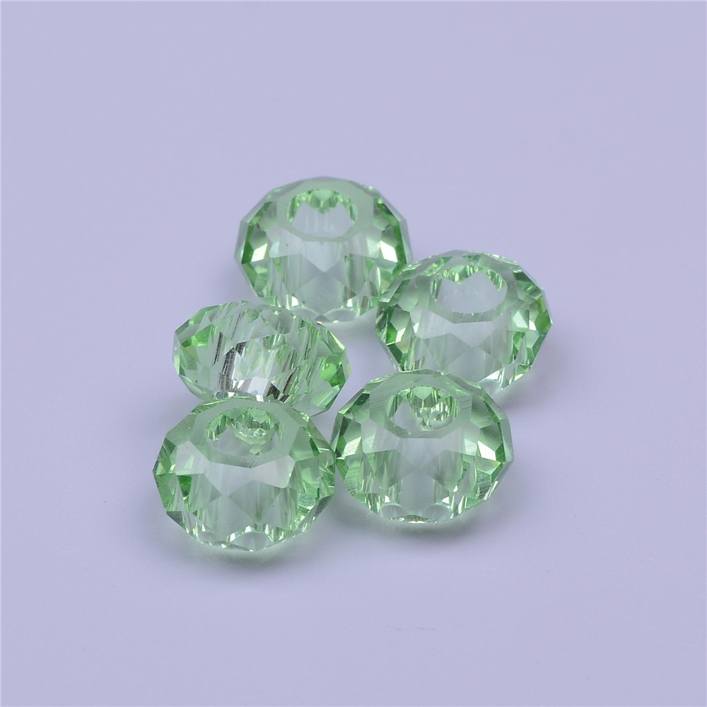 PuJiang factory wholesale large <strong>hole</strong> expanded glass beads