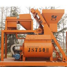 Twin-shaft JS750 concrete mixers philippines