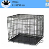 Cage Pet Dog Crate Kennel Cat Folding metal welded dog cages in cars