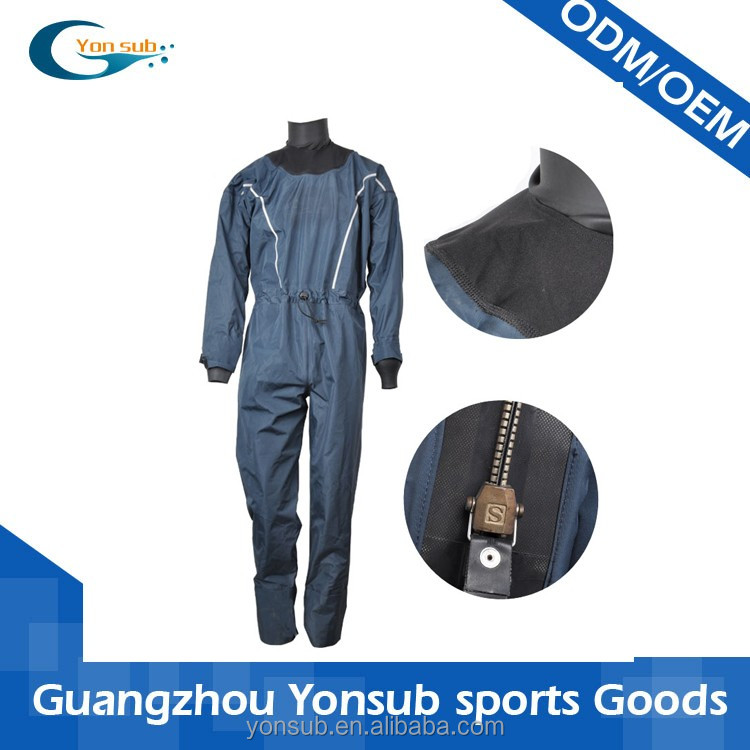 commercial nylon+ polyester diving drysuits