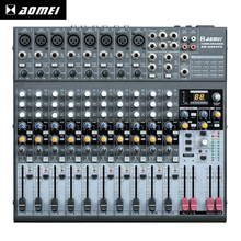 Selling well all over the world AM-2204FX powered mini dj usb audio mixer audio equipment