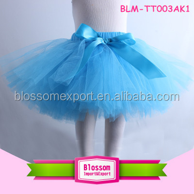 Plain dyed technics and chiffon fabric Type baby girls tutu skirt summer baby tutu