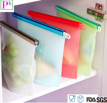 2017 Amazon Hot Food silicone plastic food packaging bag fresh vegetable bags