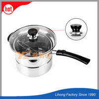 China factory sell cook assesories metal soup pot stainless pot
