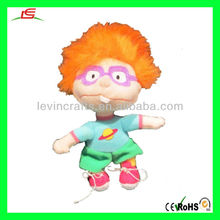 Chuckie Doll Childs Play with Orange Wig & Shoes