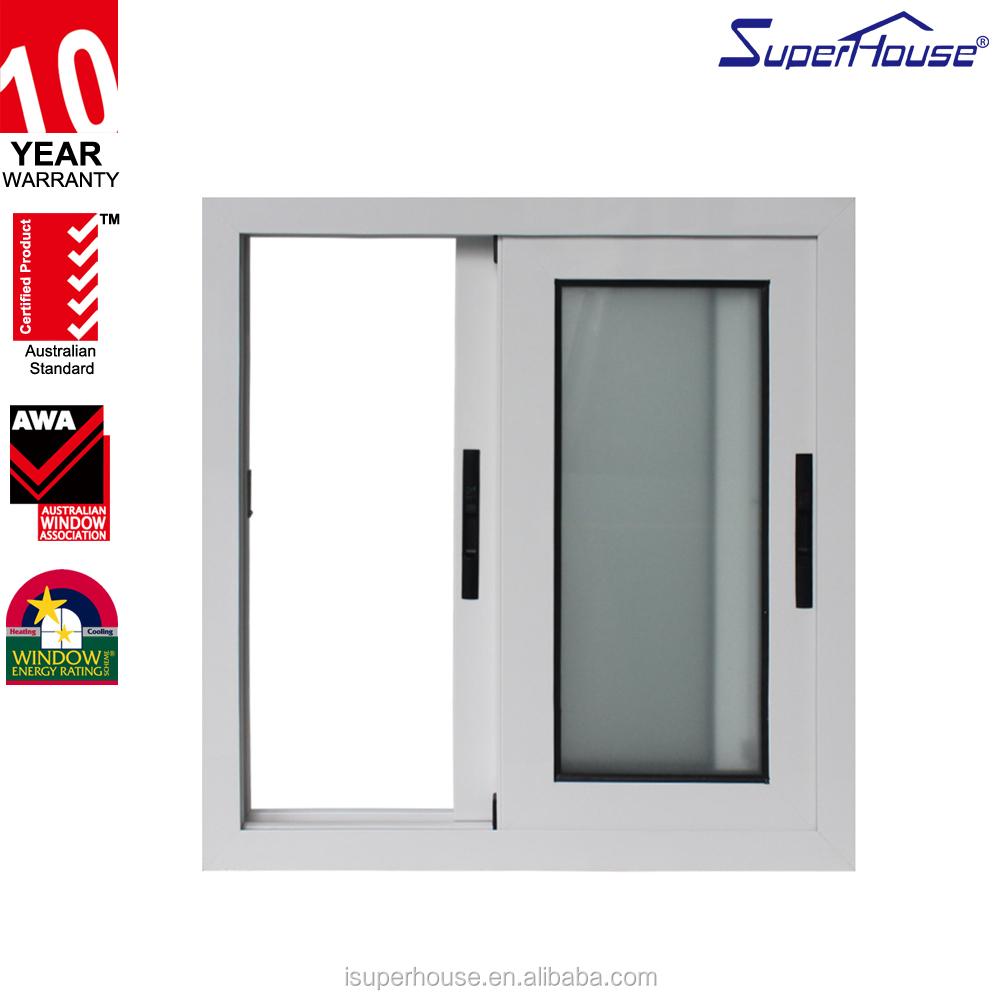 Soundproof windows - As Nz2208 Standard Soundproof Aluminium Glass Sliding Horse Trailer Windows