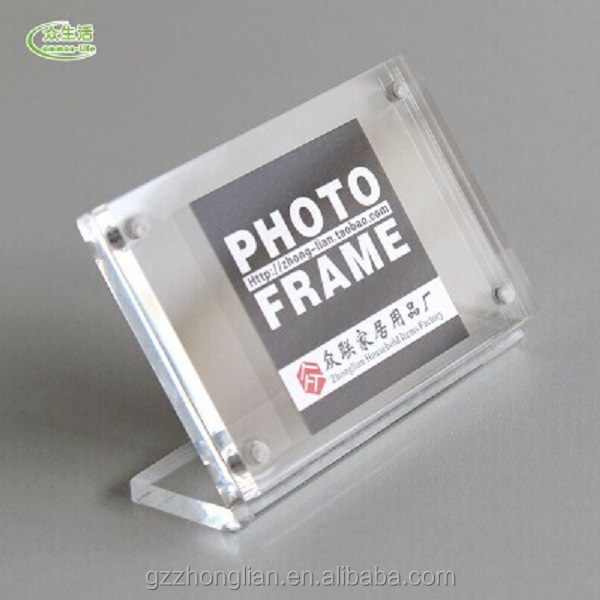Hot Selling ! Acrylic Display ,Acrylic Photo Frame With Magnet Back
