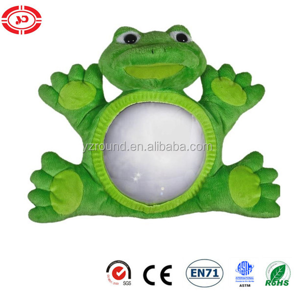 ours chien grenouille vue infantile safe guard miroir b b voiture jouet animaux en peluche id. Black Bedroom Furniture Sets. Home Design Ideas