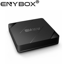 Lower price EM95W Amlogic S905W Quad-Core iptv android network media player for smart things