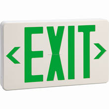 UL USA Battery Backup SMD Led Emergency Exit Sign light