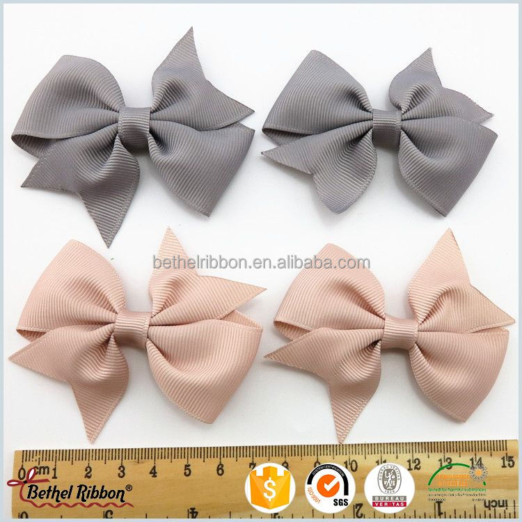 2017 unique alibaba china letter printed hair bows