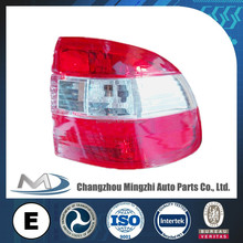 Tail light, Auto lamp, Tail lamp crystal white red for Opel Astra F