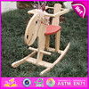 2015 New promotional Wooden Horse Toys,Educational fun Craft Rocking Horse,Cool and excellent workmanship ride on toy WJ276254