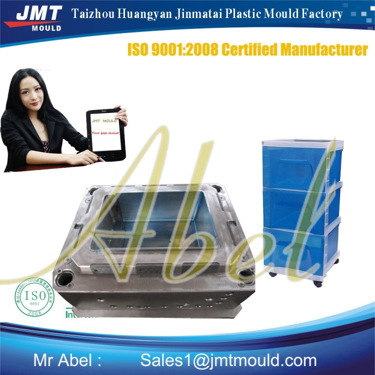 Plastic injection meuble tiroir plastique mould