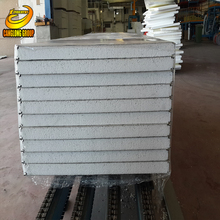 Color steel eps polystyrene roof sandwich panel with high quanlity