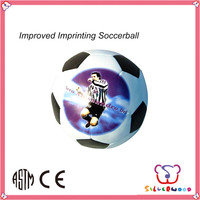 GSV ICTI Factory new style small kids custom plush toy football set