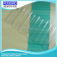 Good weather ability , thermal Insulation corrugated plastic greenhouse panels
