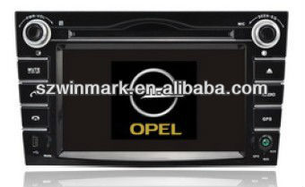 6.2 inch HD TFT OPEL special Car DVD GPS with IPOD, Bluetooth, GPS, Radio, ATV, DVB-T, ATSC, STERING WHEEL CONTROL