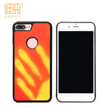 New Design Temperature Sense color changeable mobile phone case for iPhone 7