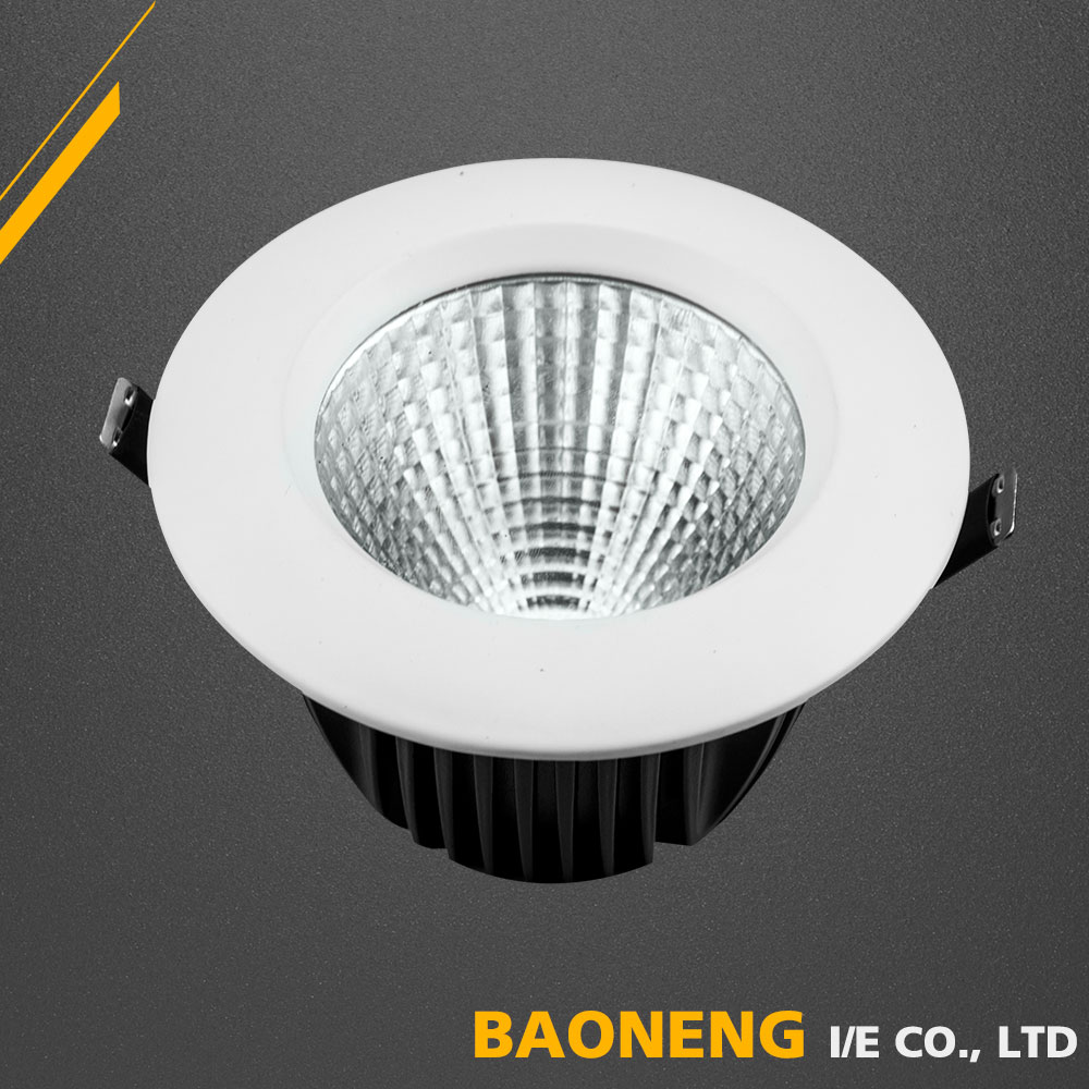 10W COB Aluminum Alloy RoHS CE Certification Cylinder LED Light
